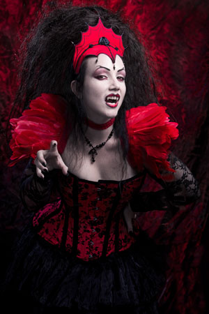 Lady Amaranth With Fangs By Father Sebastiaan